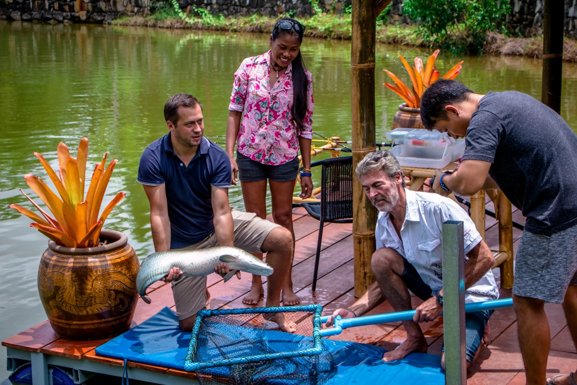phuket fishing park big fish